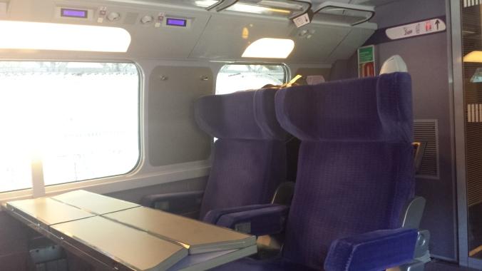 First Class on TGV